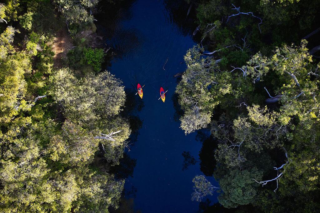 Furguson Valley: TraaVerse Kayakking, Honeymoon Pool © TraaVerse/Russel Ord