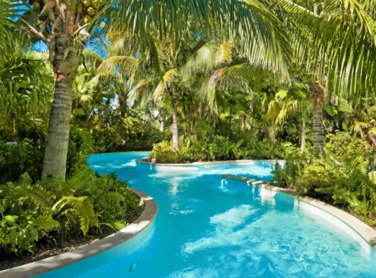 hotels with lazy rivers - hyatt regency coconut point resort and spa