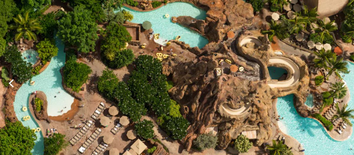 hotels with lazy rivers - aulani resort hawaii