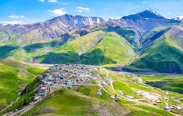 Wendy Wu Tours - Caucasus Mountain Azerbaijan