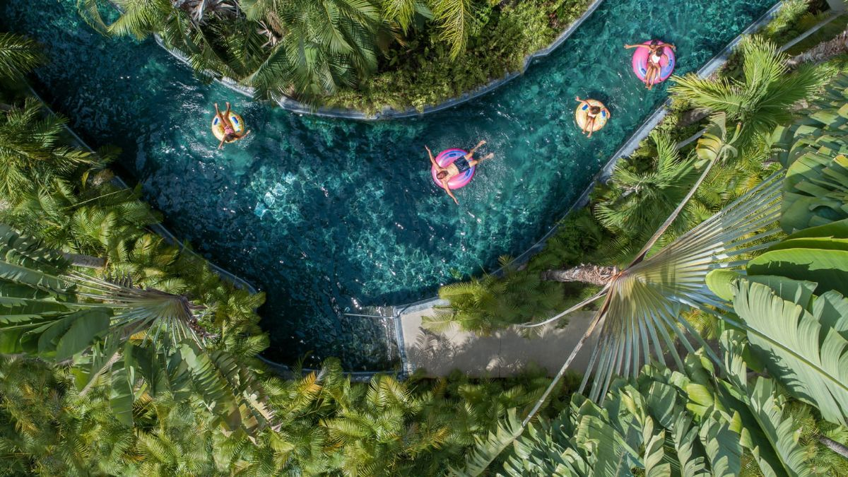 hotels with lazy rivers - four seasons resort in mexico