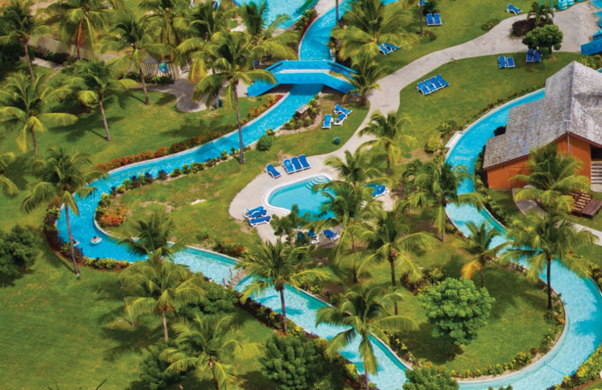 hotels with lazy rivers - coconut bay beach resort