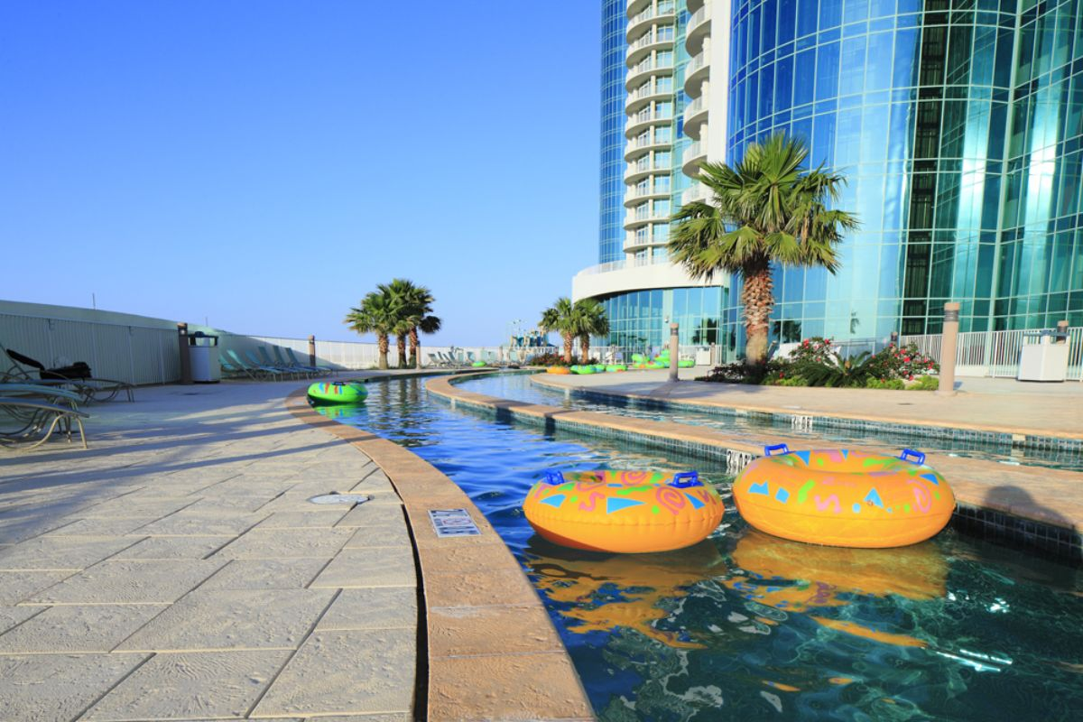 hotels with lazy rivers - turquoise place resort