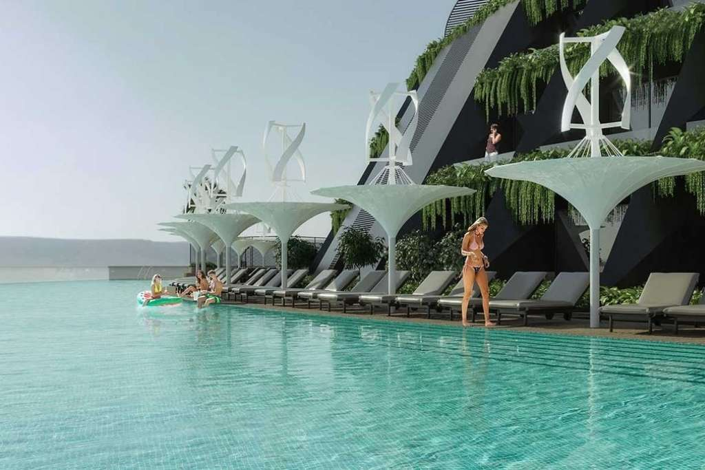 Qatar's Eco-Floating Hotel © HAADS