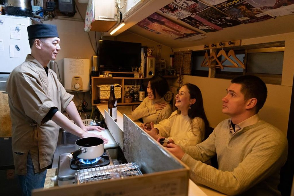 Bar hopping in Kanazawa City
