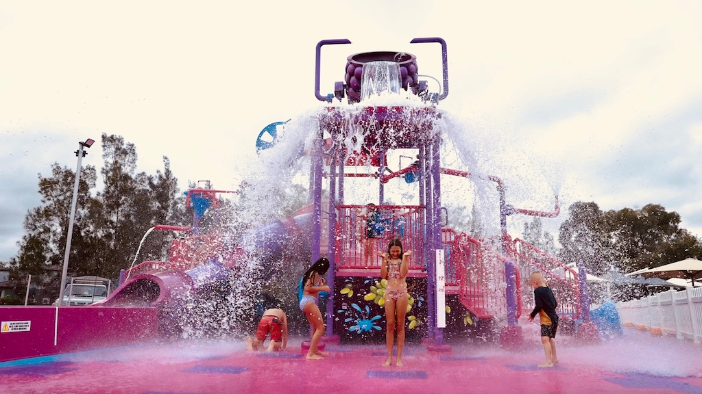 Crowne Plaza Hunter Valley Splash Park launched