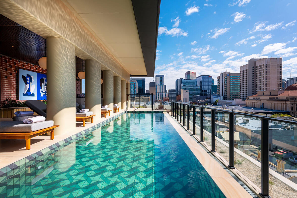 IHG - Hotel Indigo Adelaide Markets rooftop pool