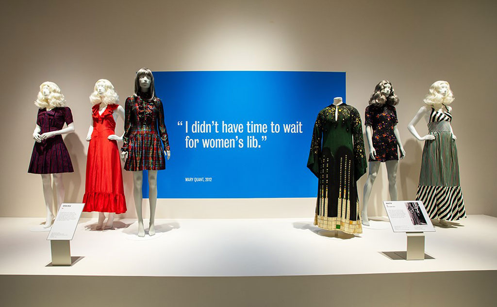 Mary Quant Fasgion Revolution Exhibition