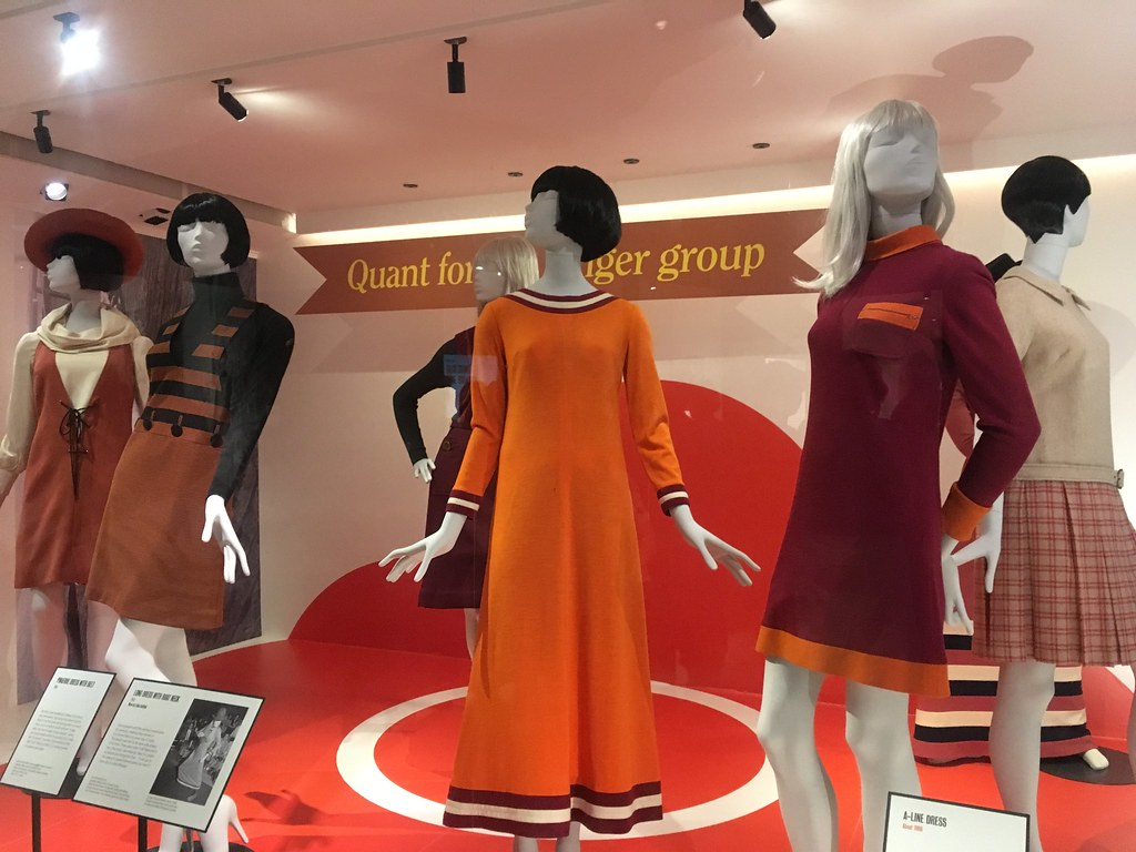 Mary Quant Fashion Revolution Exhibition © © felibrilu under CC BY 2.0