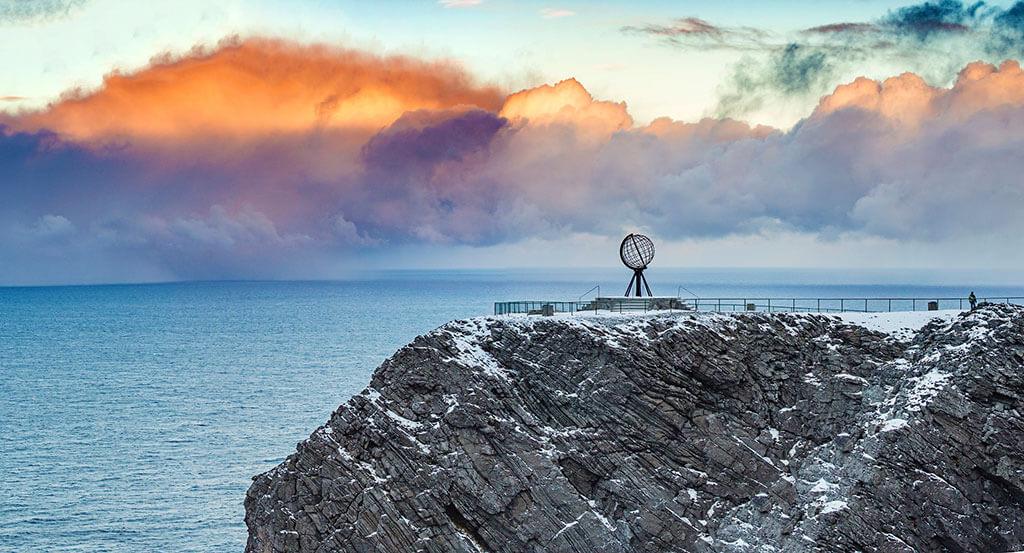 Attractions along the Norwegian coast: North Cape, Honningsvag, Norway © Ørjan Bertelsen
