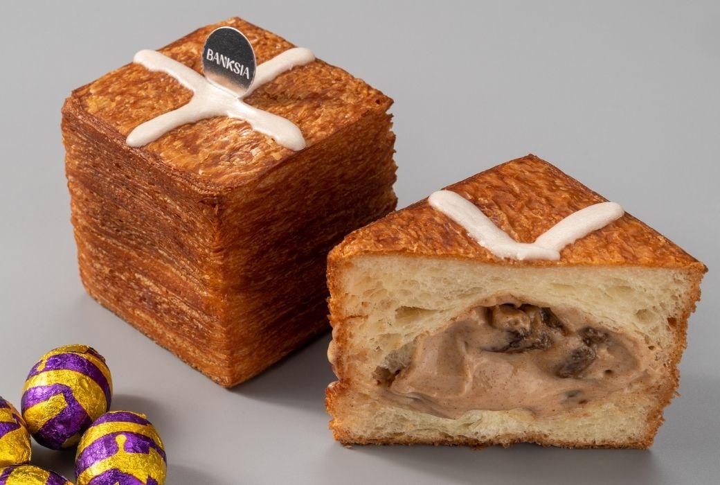Banksia Bakehouse Hot Cross Croissant