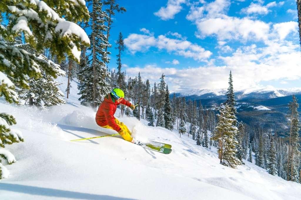 Winter Park ski resort Colorado © Carl Frey