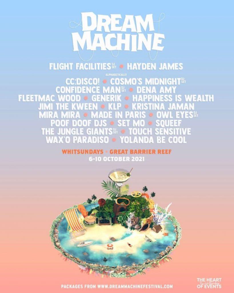 Dream Machine whitsundays