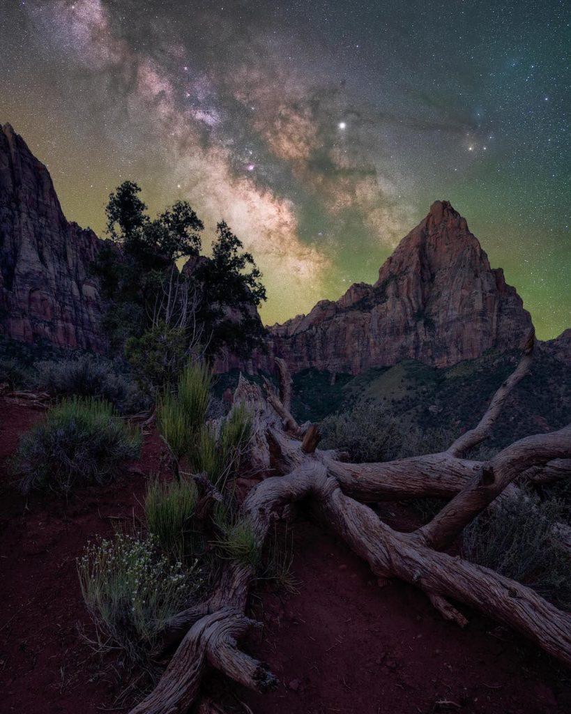 Fotógrafo de la Vía Láctea del año 2021: El vigilante - Brandt Ryder