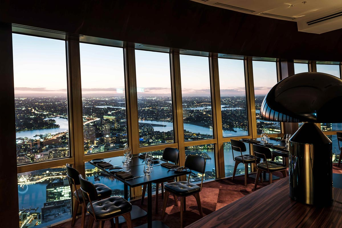 Infinity at Sydney Tower takes dining to new heights