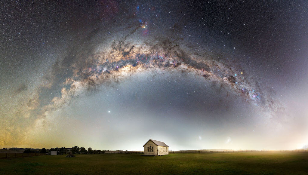 Fotógrafo de la Vía Láctea del año 2021: Cielos arriba - John Rutter