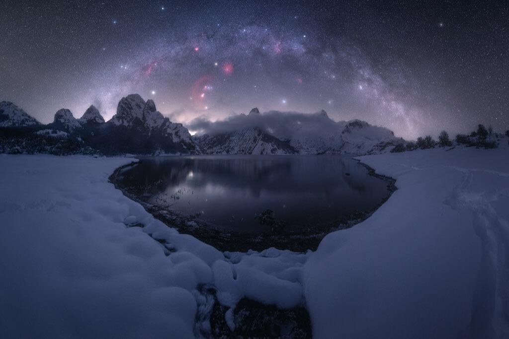 Fotógrafo de la Vía Láctea del año 2021: Riaño - Pablo Ruiz