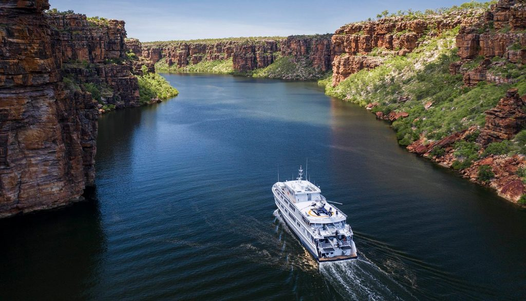 The TRUE NORTH provides greater access to the spectacular Kimberley coast