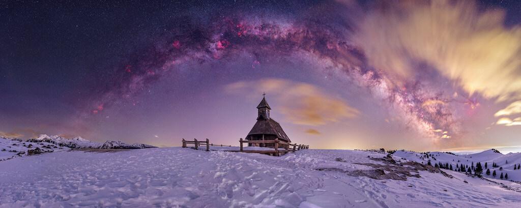 Fotógrafo de la Vía Láctea del año 2021: Nuestra Señora de las Nieves - Uroš Fink