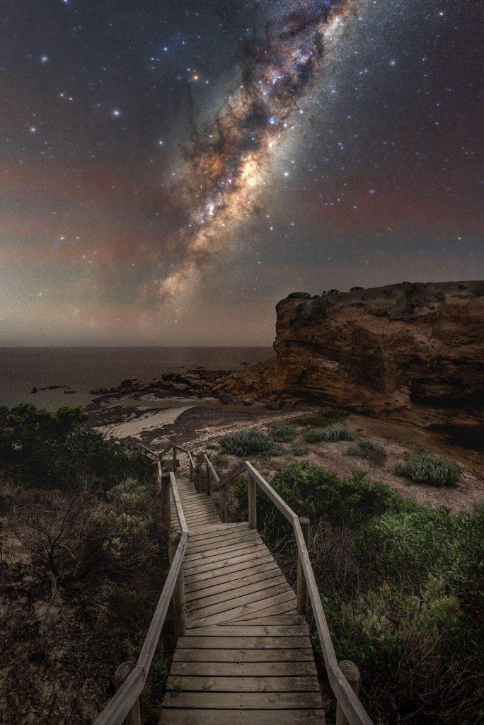 Fotógrafo de la Vía Láctea del año 2021: El lado olvidado de la isla Canguro - Blntpencil