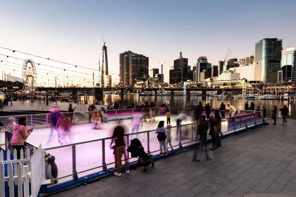 Darling Harbour Winter Festival © Sydney Solstice