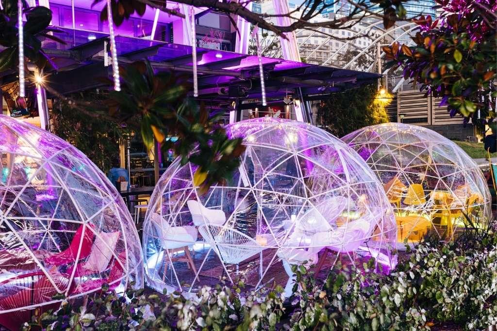 Winter Igloos at Cargo Bar Sydney © Jasper Avenue
