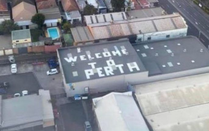 welcome to perth prank