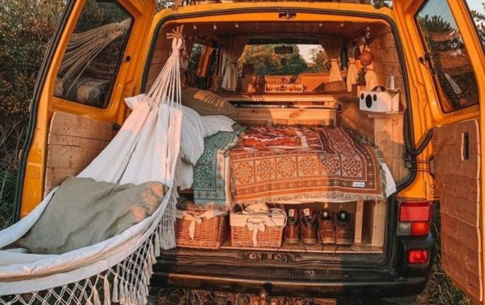 DIY campervan renovation