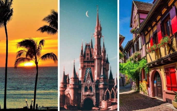 real life Disney locations