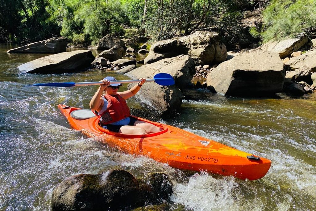 Kayak Hinchinbrook Island