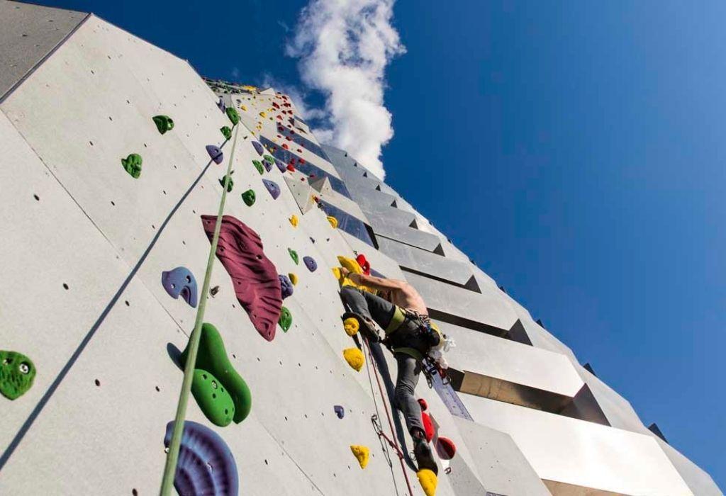 muro de escalada más alto del mundo