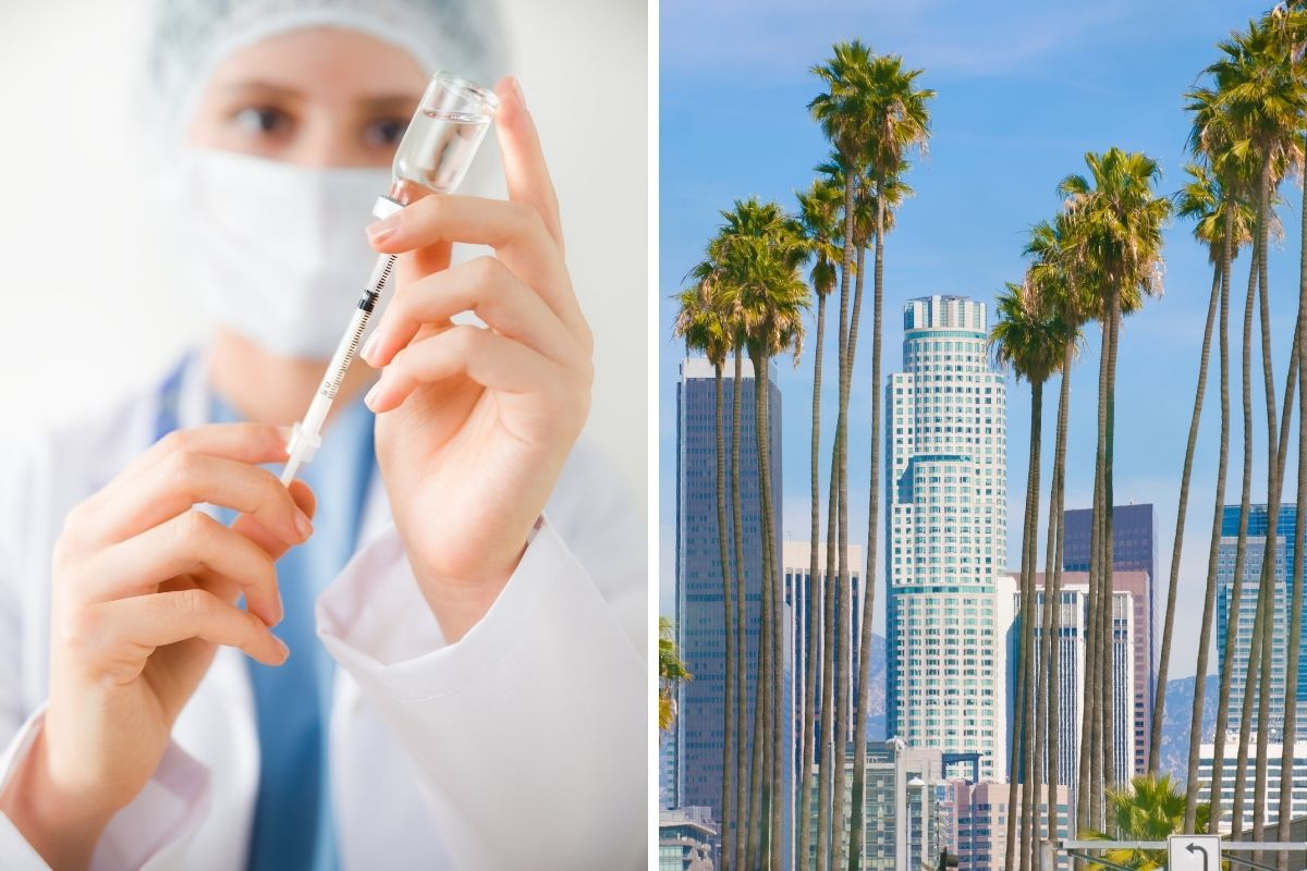 Travel agents offer vaccination tours to anyone willing to pay