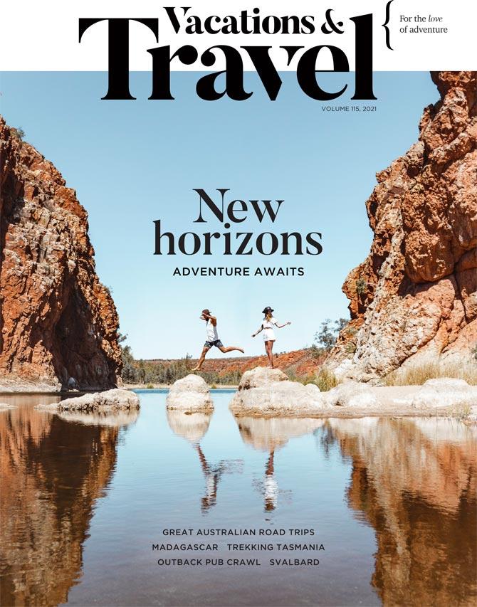 Vacations & Travel Autumn volume 115