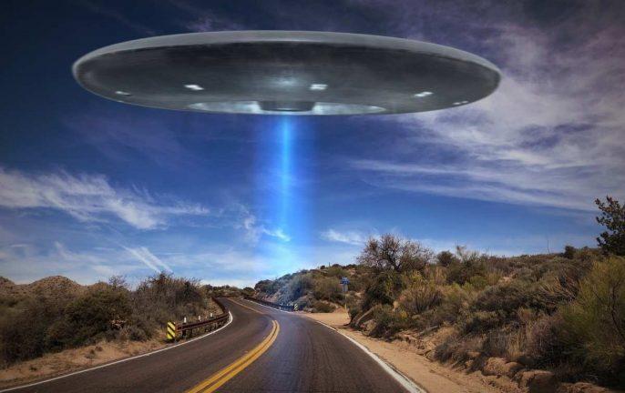 google earth ufo