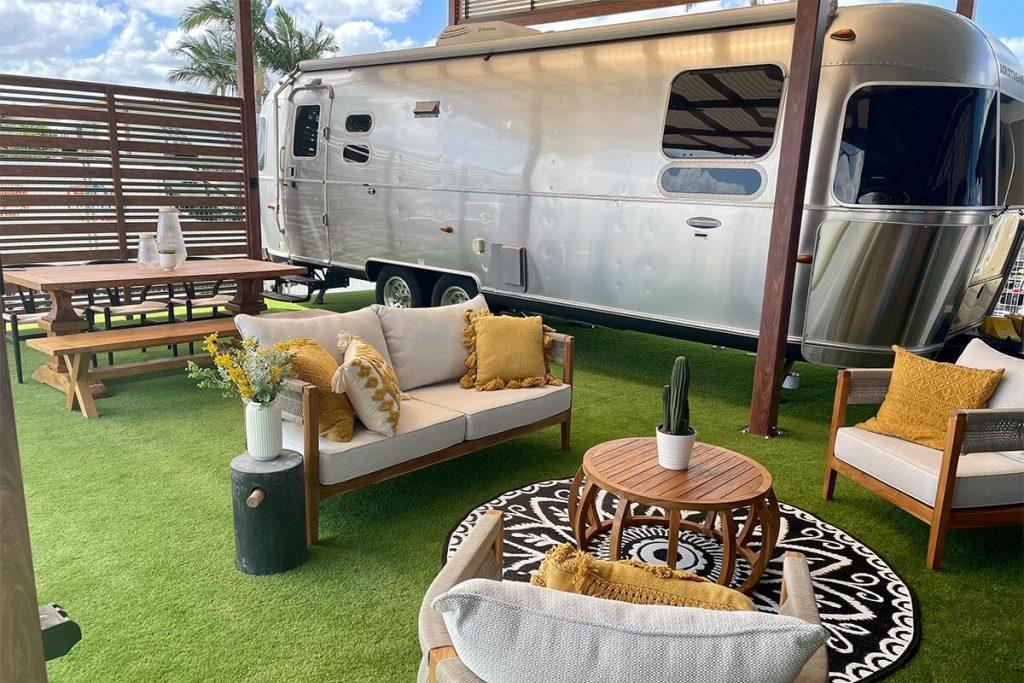 Airstream Area at Brisbane Holiday Village