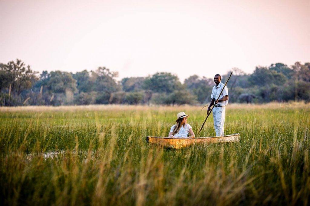 Sunset moments on Zambia's waterway
