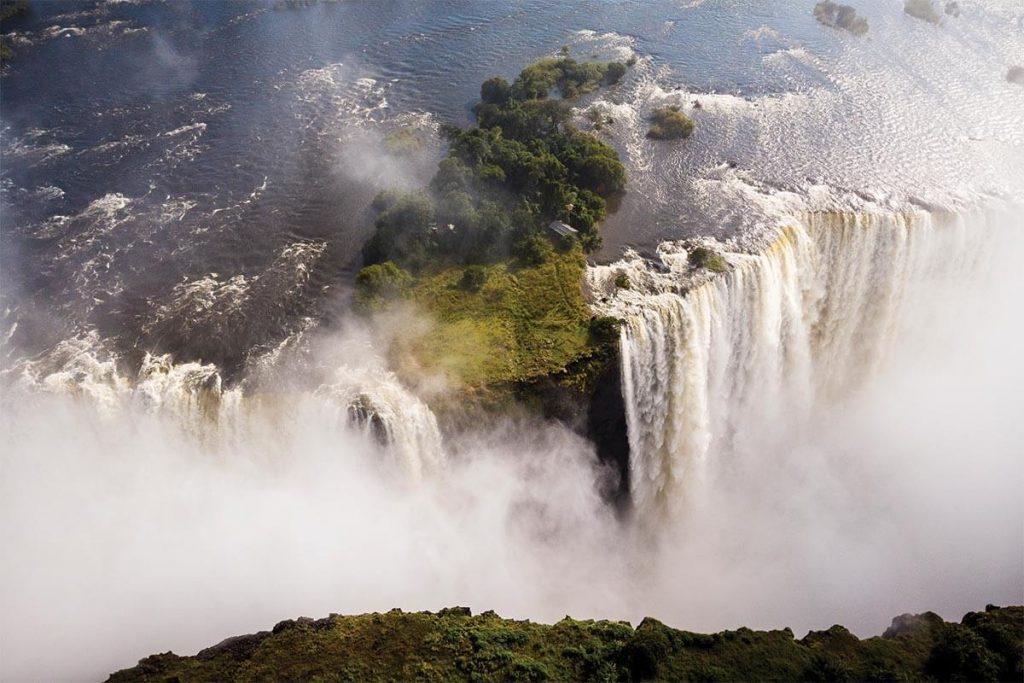 Visit Thundering Victoria Falls on Abercrombie & Kent safari