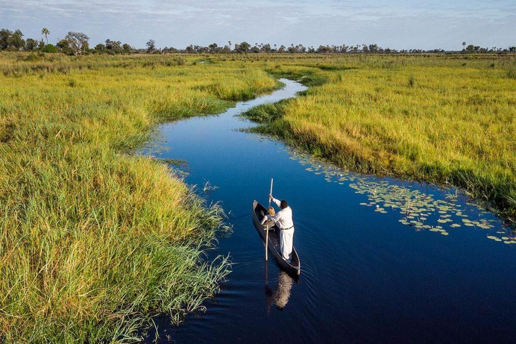 Cruising Zambia's waterways