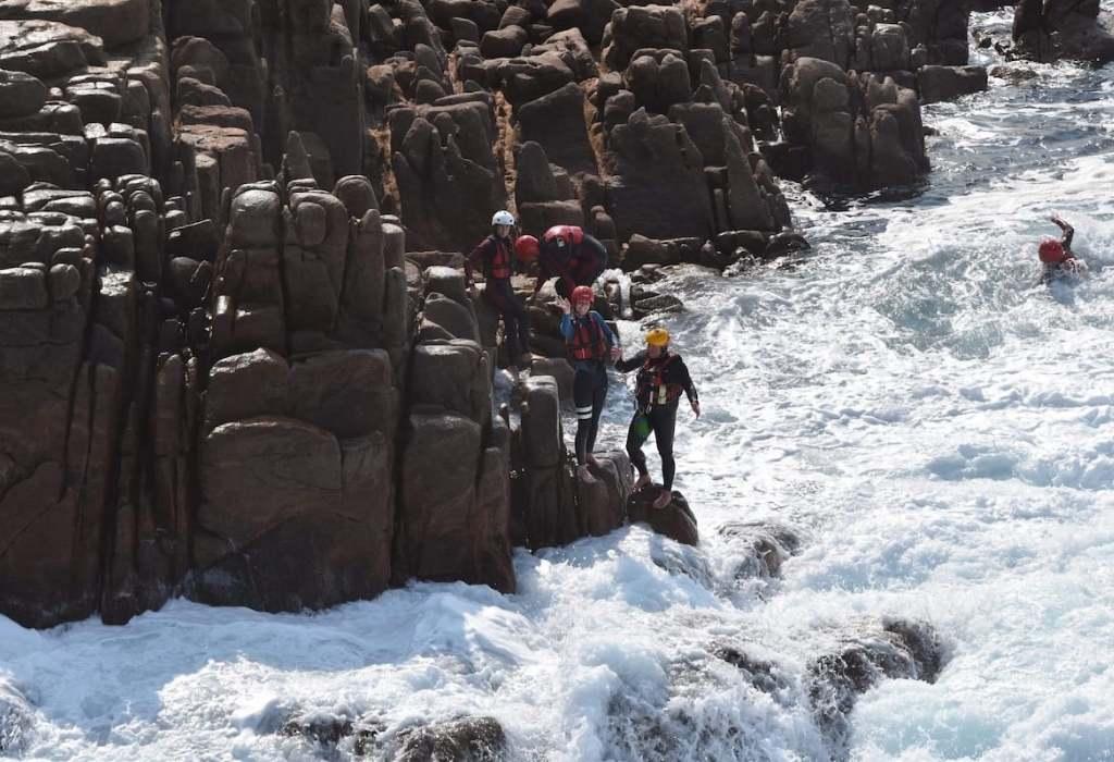 coasteering australia