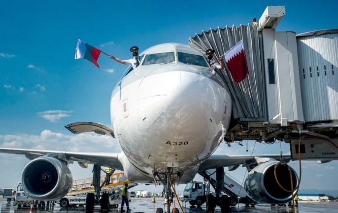 Worlds best airline Qatar Airways