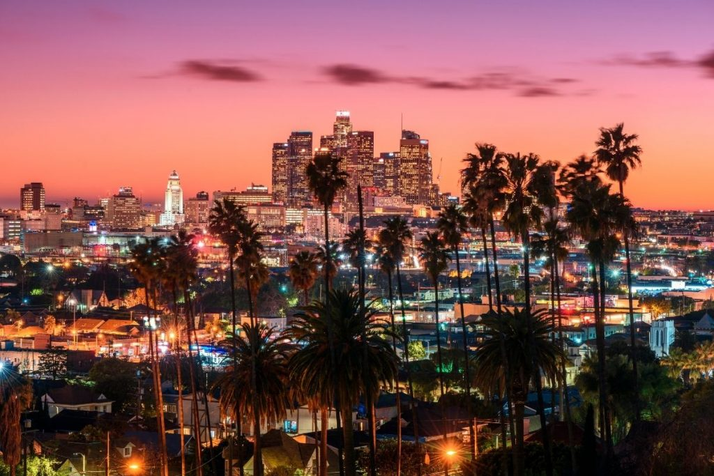 Los Angeles travel from Australia