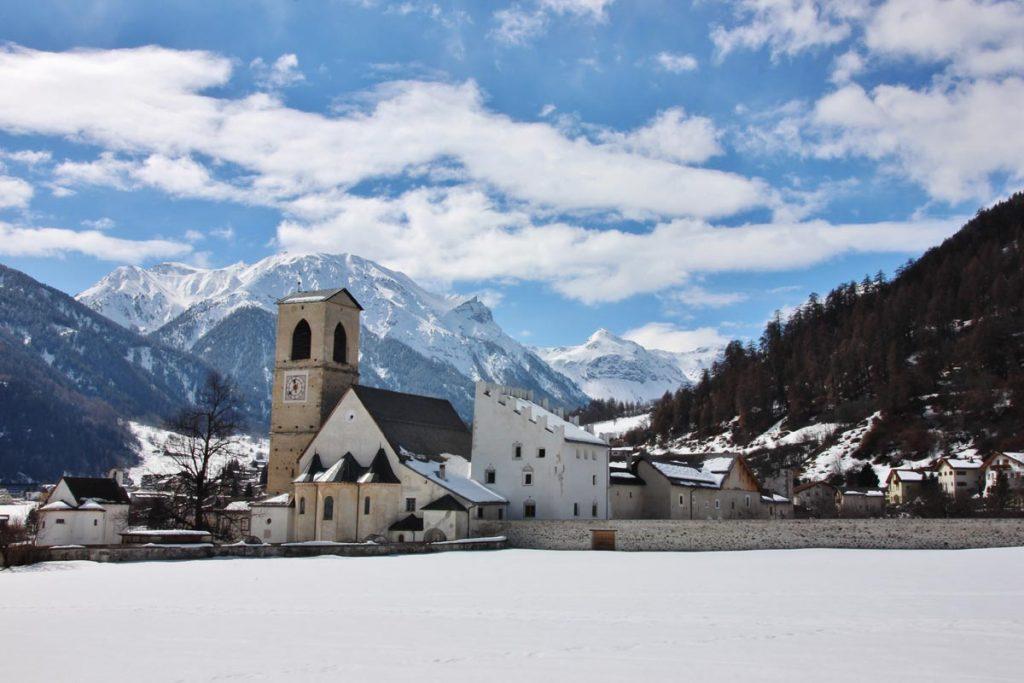 Monasterio de St. Johann en Müstair, Santa Maria Val Müstair, Suiza